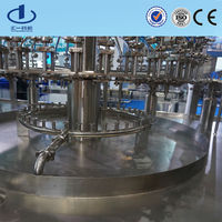 PP bottle liquid wash fill seal packing machine