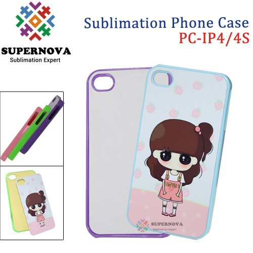 For Sublimation iPhone 4/4S Cell Phone Case