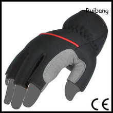 custom-made OEM/ODM hand protected half finger bicycle motorcycle racing sport gloves manufacturer
