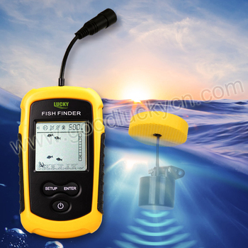 Sonar Fish Finder with 8m Cable ronnd transducer