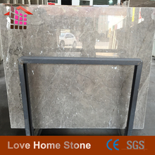 Chinese marble stone Tundra grey marble Slab For Hot Sale