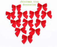 2015 Newest 12pcs/pack pretty red christmas tree decoration baubles Merry XMAS Party