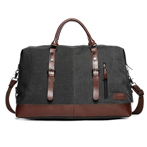 Canvas Duffle Bag Oversized Travel Overnight Weekender Bag for Men Women