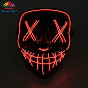 Design your own mask online The Purge Mask Led Mask Halloween