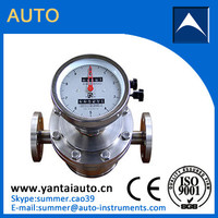 high temperature Oval Gear Flow Meter for Petroleum products with high quality
