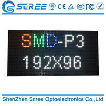 Scree wholesale High refresh rate HD indoor P2 p3 P4 p5 p6 p7.62 p10 SMD full color led display panel price made in China