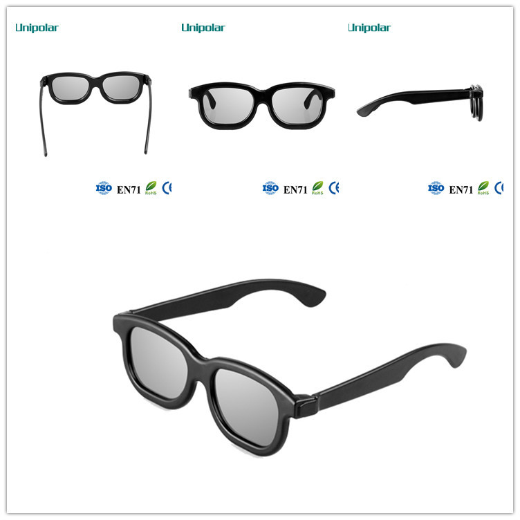 Circular polarized 3d glasses for movie,tv