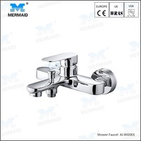 Modern Styling Bathroom Single Handle Two Function Wall Mounted Bathtub Faucet Tap Shower Mixer set bathtub mixer