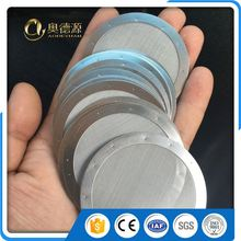 sintered stainless steel metal mesh sanding filter disc
