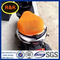 Good quality motorcycle seat cover 3D mesh
