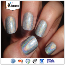 Wholesale holographic effect glitter pigments for cosmetics usage/leather/car paint glitter holographic