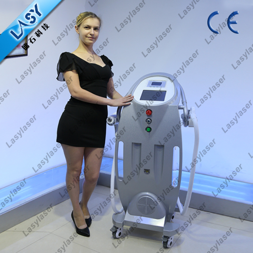 e-light ipl rf laser multifunction machine
