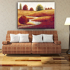 Classic-maxim beautiful wall hanging picture autumn season handmade oil painting