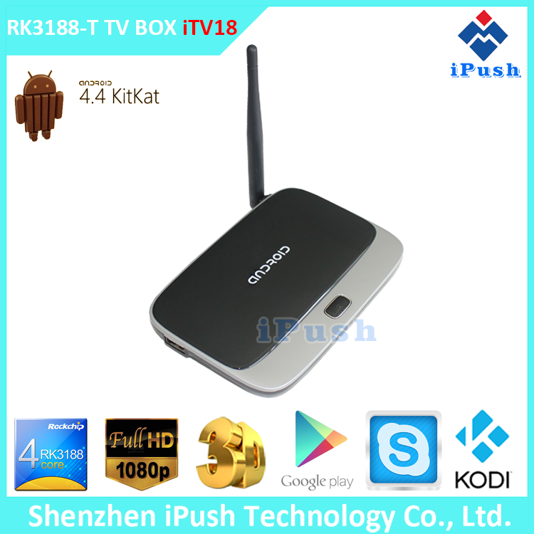 2015 Hotest Quad Core android smart tv box Airplay Miracast DLNA CS918