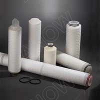 0.20 micron pharmaceutical PES pleated cartridge filter