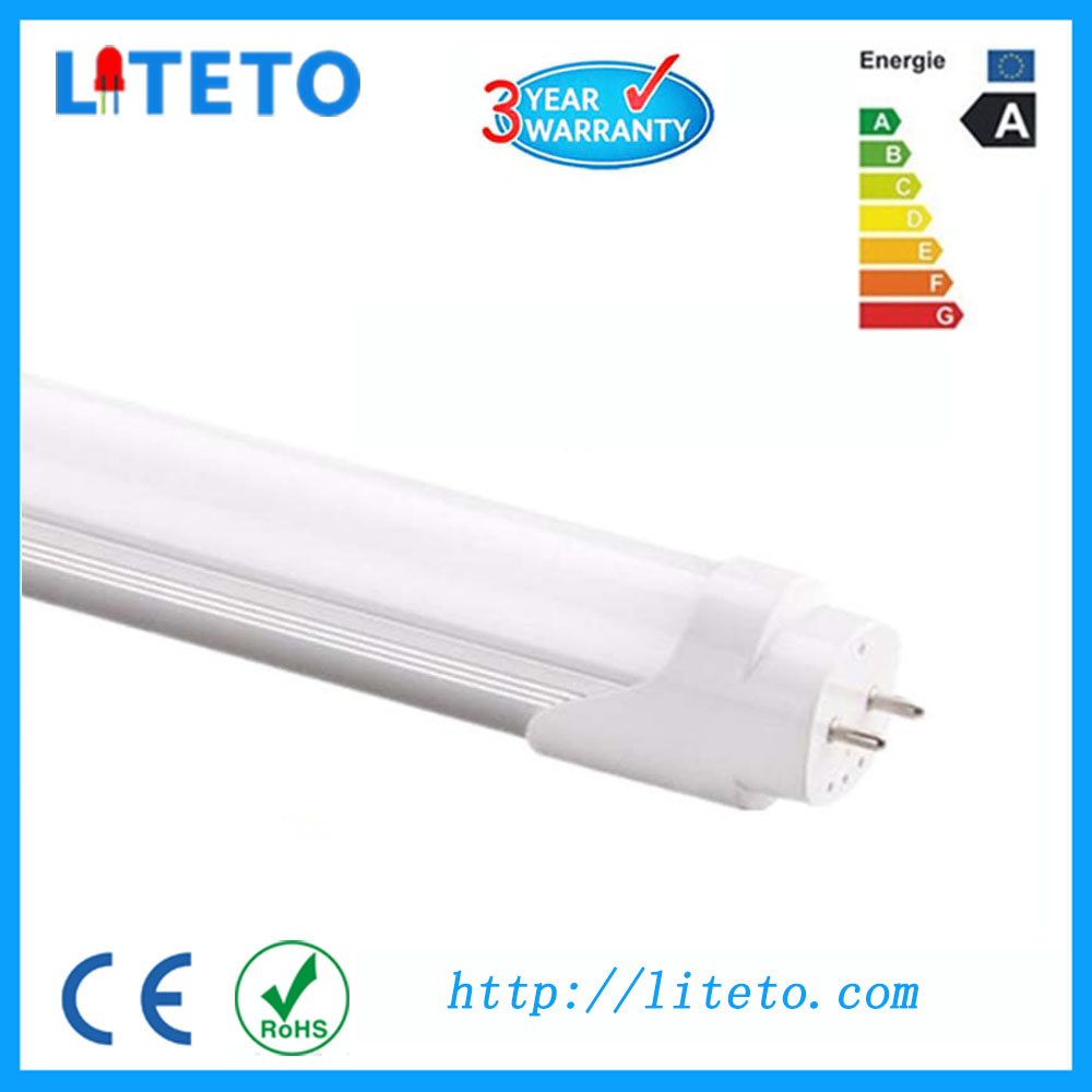 Hot selling V-Shaped 18w 1.2m integrated cooler door single tube t8 fluorescent fixture