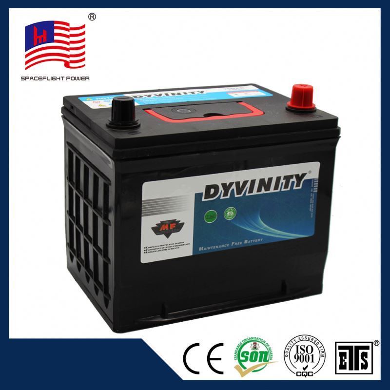 75D23 JIS Custom standard car battery dimensions