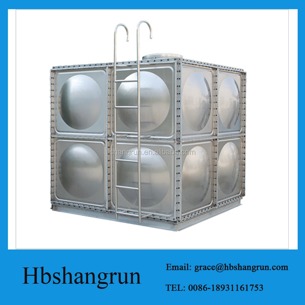 High Quality FRP Glass Fiber Reinforced Water Storage Tank