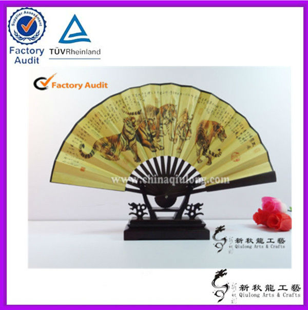 Design hand fan men's hand fan fold up promotional hand fans