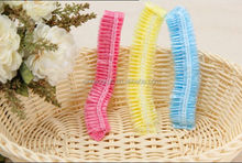 disposable good quality cheapest strip shower cap