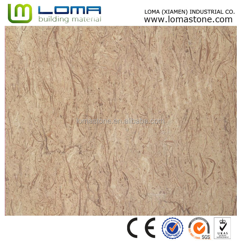 New style high quality Vanilla beige marble tiles