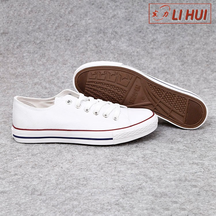 2017 new style china white men canvas shoes wholesale man casual shoe