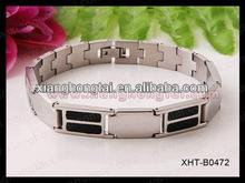 2013 wholesale fabric magnetic bracelet with strong magnet ,germanium ,negative ion and far infrared