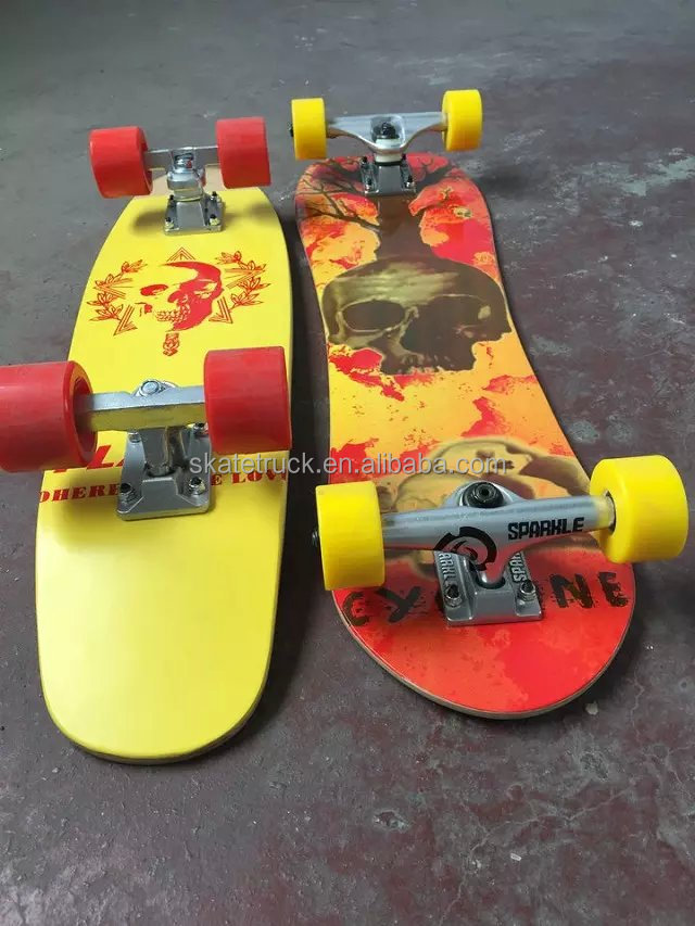 Flappy Skateboard With Red Wheels