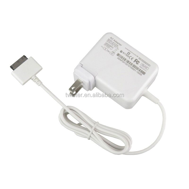12V 1.5A Chargers EU US AC Power Adapter for Acer W510 Iconia Tab W511 ADP-18TB in white color