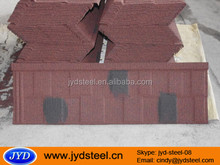 colorful stone coated steel roofing tile/construction materials corrugated steel tile with low price