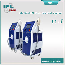 Intense pulsed light electrical photo ipl cosmetic epilator machine in China market