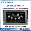ZESTECH EXW Price HD Touch Screen car dvd player for Hyundai H1 Starex 2 DIN head unit with usb, SD, gps, dvd, Exporter