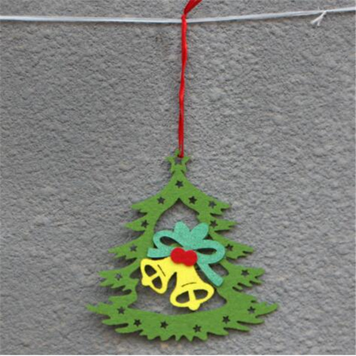 Christmas decoration handmade wool felt christmas tree ornaments