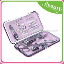 Pedicure and manicure tool 12 in1 ,MY169 12 piece manicure set grips