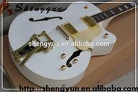 L Shengque Acoustic Guitar White Electric guitar Music Instrument Store