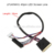 Factory Wholesale 28cm 40pin LED Screen Cable Single 6-bits LVDS Cable LP140WH1 LED LCD Screen Cable Wire For Replacement