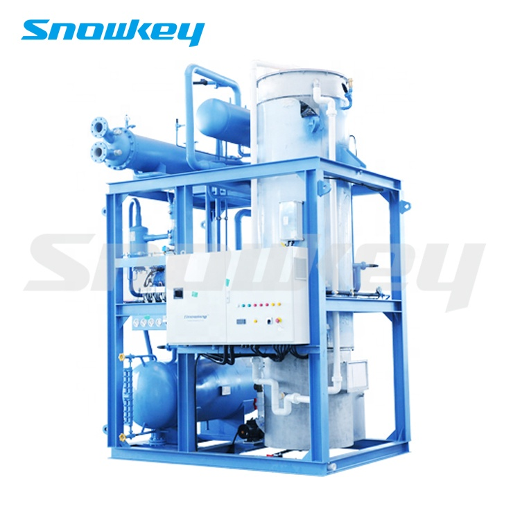 Snowkey Professional 25 Ton Tube Ice Making Machine For Ice Factory
