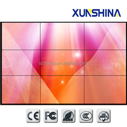 "Ultra narrow bezel 5.3mm 46"" lcd did video wall with brightness 500nits"