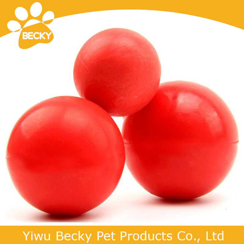 pet products rubber elastic ball chew dog toys