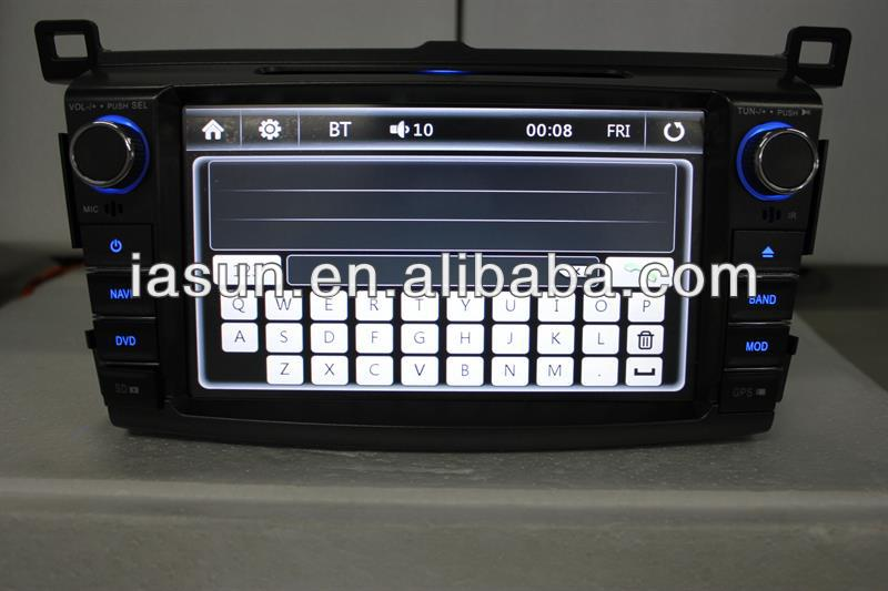 Android coche DVD GPS con Bluetooth TV IPOD for 2013 TOYOTA RAV4 android opel astra car dvd gps navigation