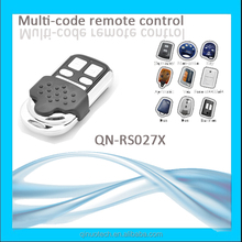 433Mhz wireless 8 in 1 universal remote control codes for sliding door