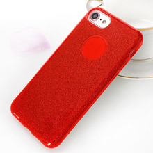 Bling Glitter Mobile Phone Back Protective Cover Case For iPhone 6s
