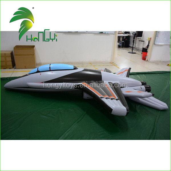 Excellent Design Idea Hongyi Customized Airplane / Inflatable PVC Warcraft Toy