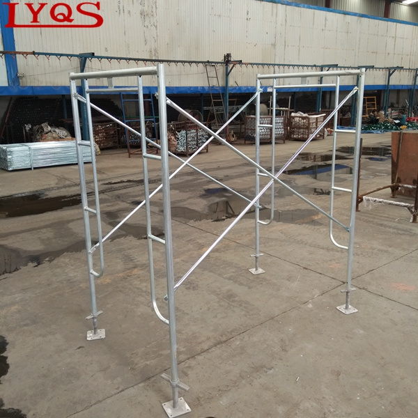 Factory price sale metal frame scaffolding OEM size