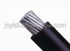 PVC insulated electrical cable 10mm pvc wire aluminum power cable