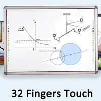 China Infrared multi touch interactive smart board for sale with cheap smart board price