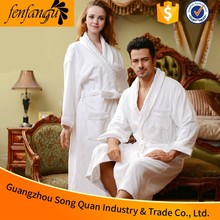 guangzhou manufacture hot sale 2016 new 5 Star Egyptian Cotton Hilton Hotel Bathrobe