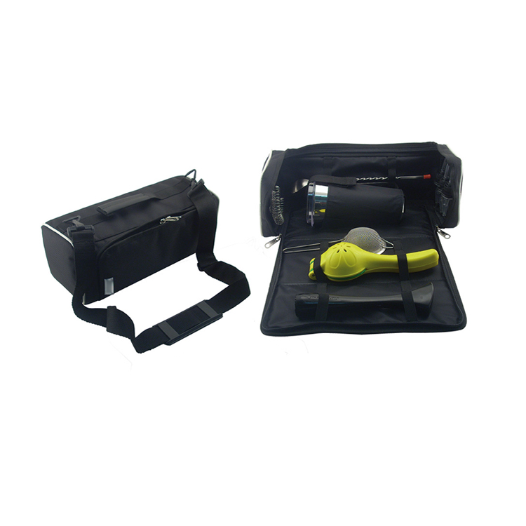TL001AZ Roll Up Bartender Tool Bags For Bar