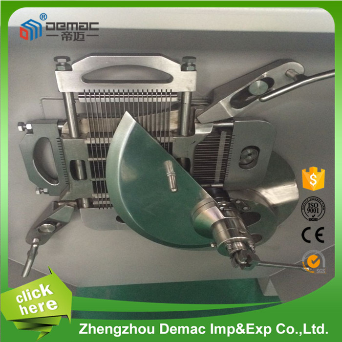 Automatic meat cube cutter /meat cube dicer/mince meat machine