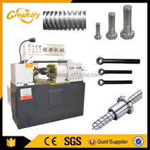 Small flat die screw thread rolling machine manufacturer